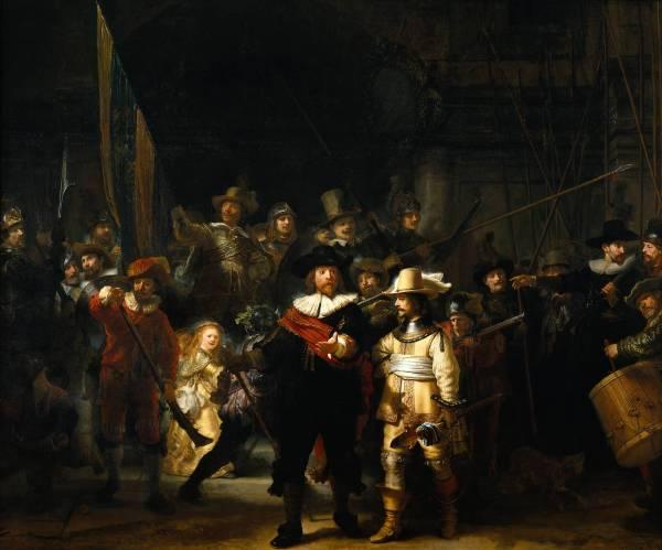 night watch rembrandt de nachwacht De compagnie van Frans Banning Cocq.